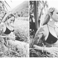 danielle { hana, hawaii } maternity photography Maui