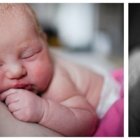 jasmin & cali ~ first breath // newborn session