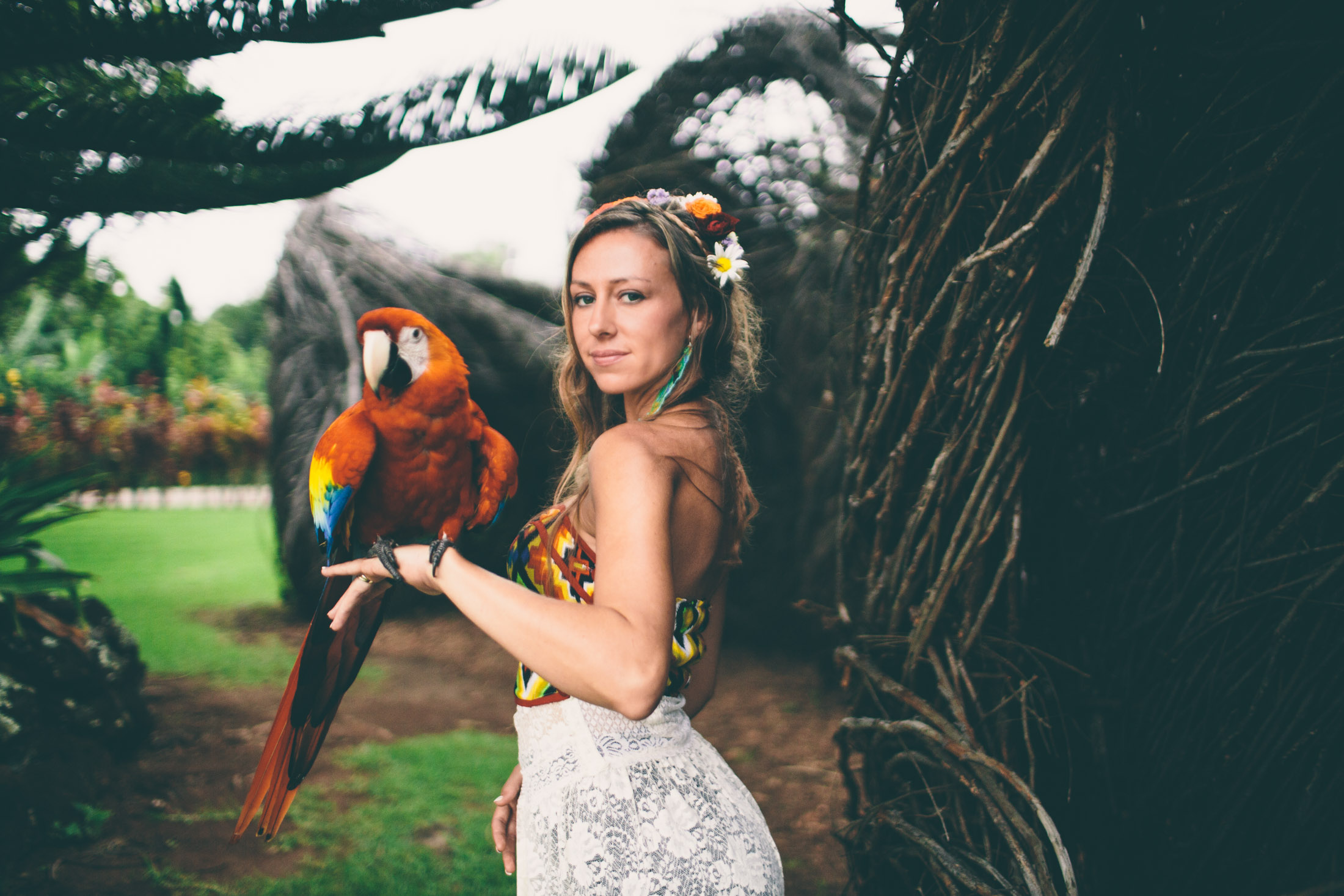 Rebekah Uccellini photographed in Maui.