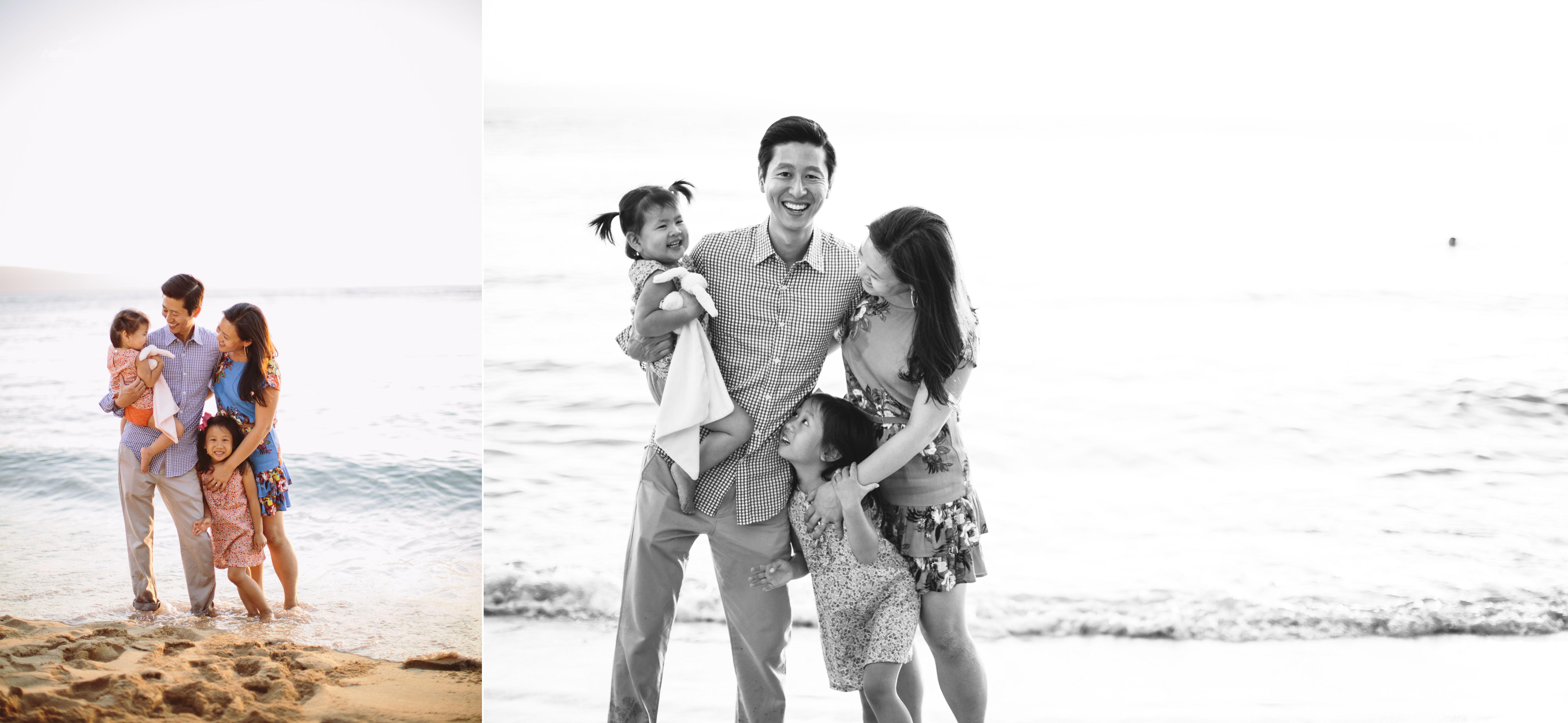 family photography at Kapalua Bay on Maui