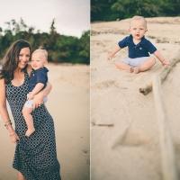 baby carson & family