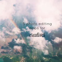 5 photo editing apps for creatives