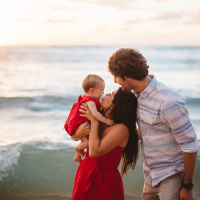kenny ohana | maui family photography | kapalua bay