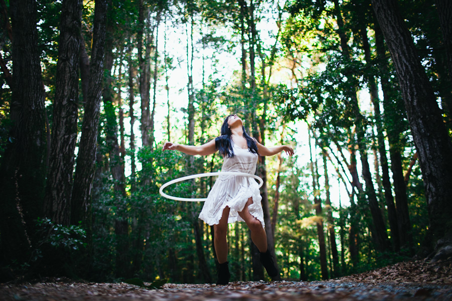 the hula hoop girl by the hoop photographer