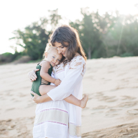 tropical moms | melissa & esme