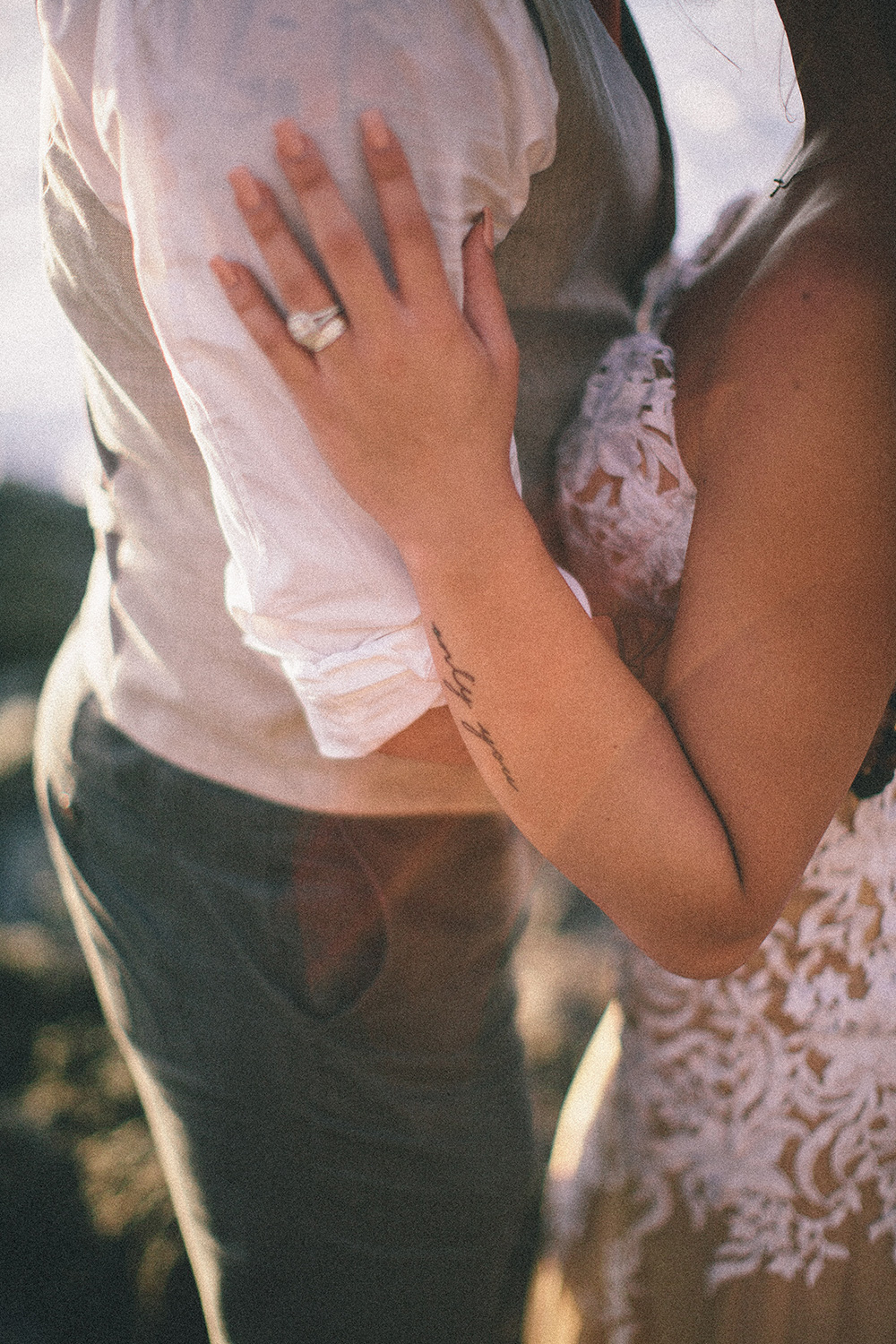 unique and creative wedding photography for the alternative couple.