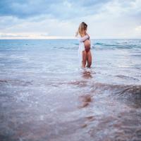 katerina & jacob | maui maternity photography