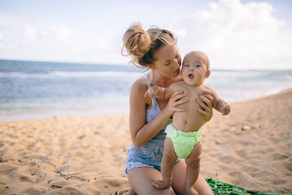 ellen fisher raising vegan children on Maui.