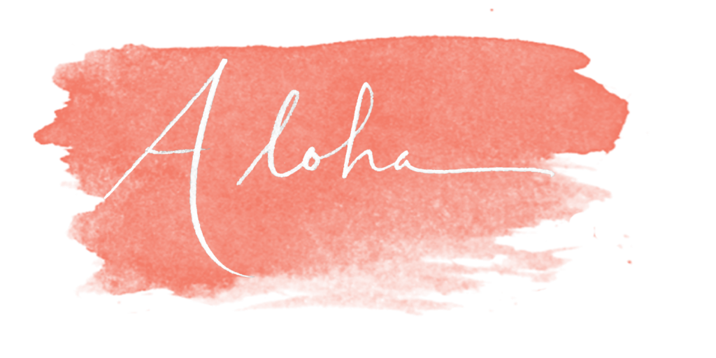 aloha from cadencia photography