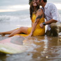 chelsea & hugo | maui engagement photos
