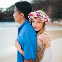 rebekah  + richard  | maui engagement photography