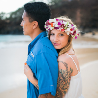 rebekah  + richard  | maui engagement photography