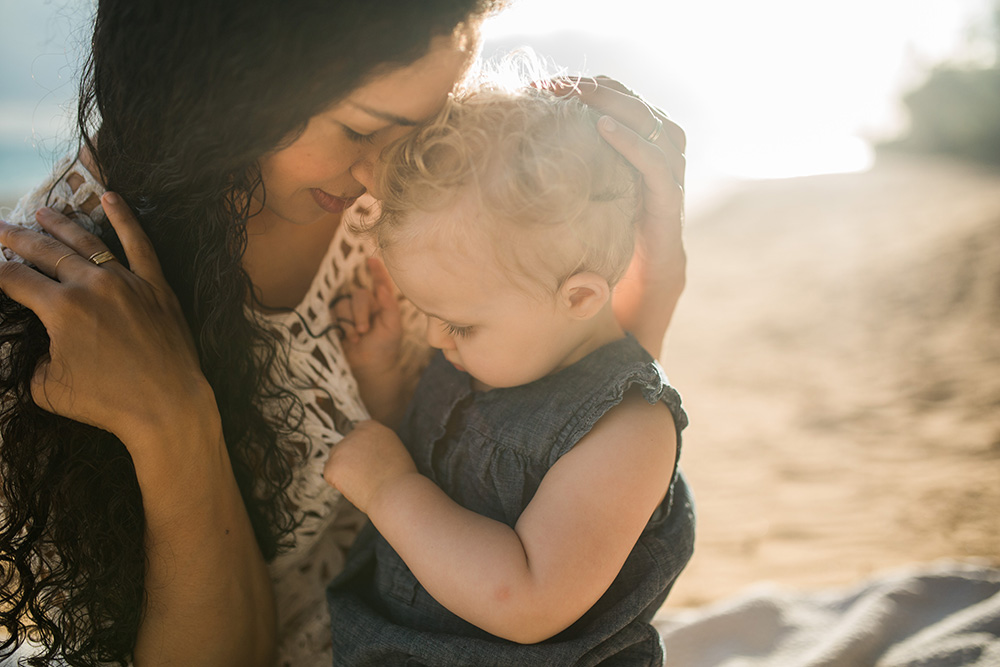 maui family photography by cadencia - beautiful baby beach in paia.