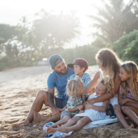 chelsea jean | vegan + homeschooling interview | paia family photography