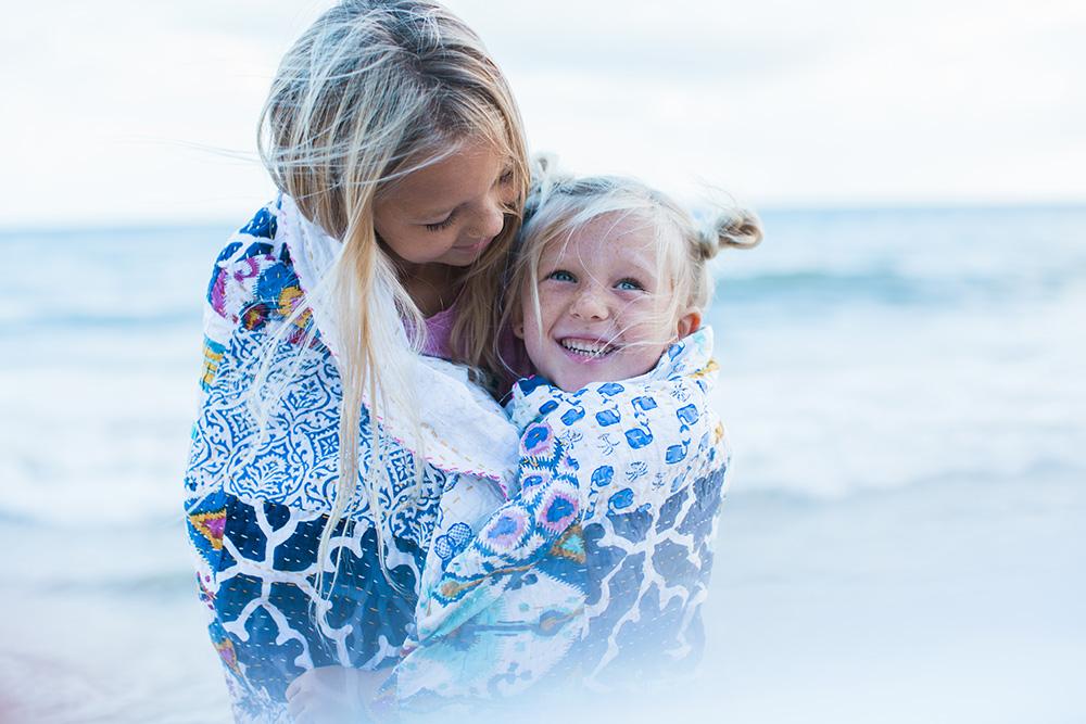 vegan and homeschool family hawaii family photos.