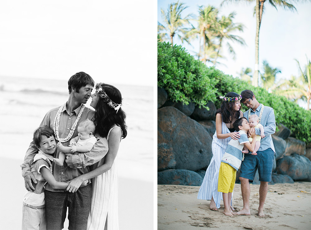 maui's best family photography. a beautiful morning photography session in paia, hawaii.