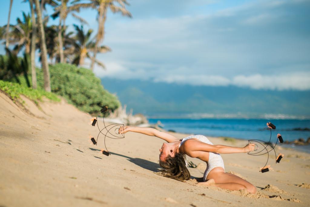 hawaii fire dancer, nicole casper
