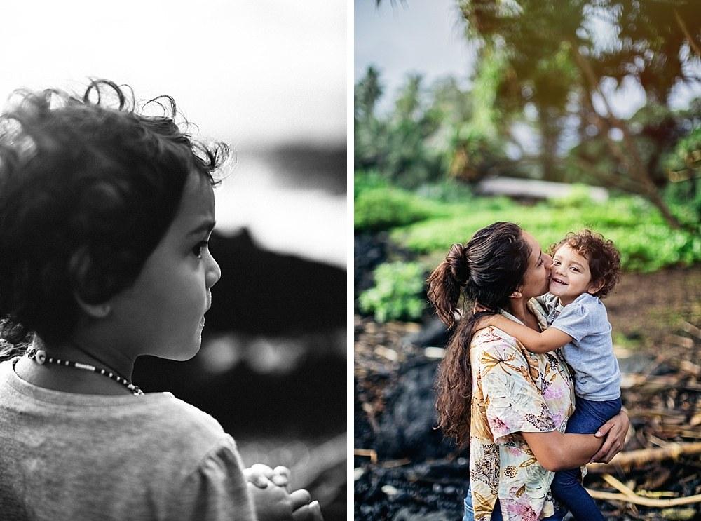 keanae peninsula mama Kamalani shares on tropical moms, a series on Maui motherhood with interviews and family photography.