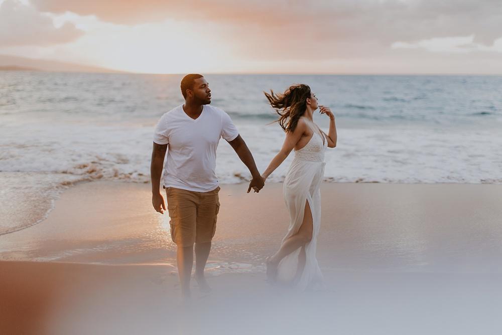 maui, hawaii couples photography with cadencia.