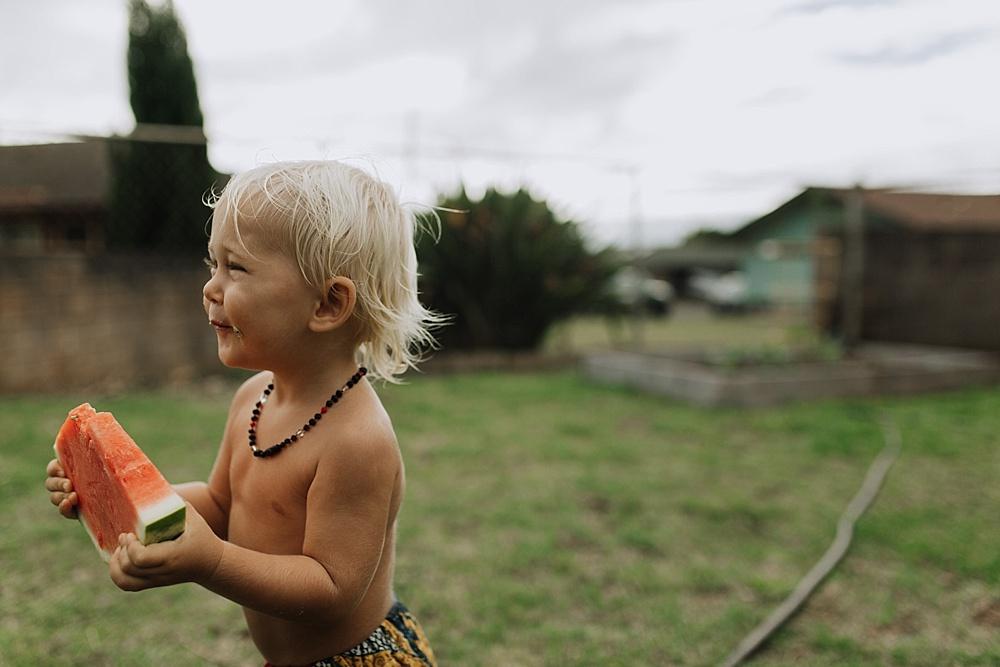 raising vegan babies, ellen fisher on Maui