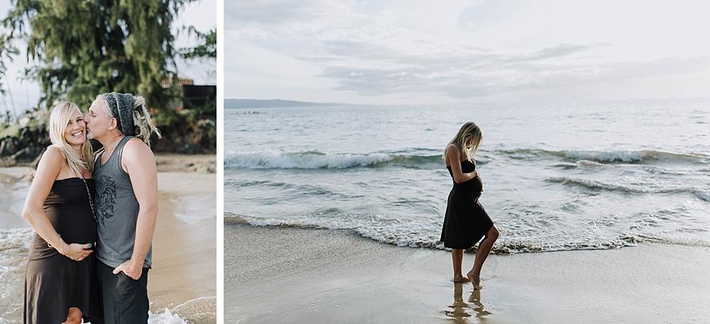 maternity photographs in maui hawaii by pregnancy photographer cadencia.