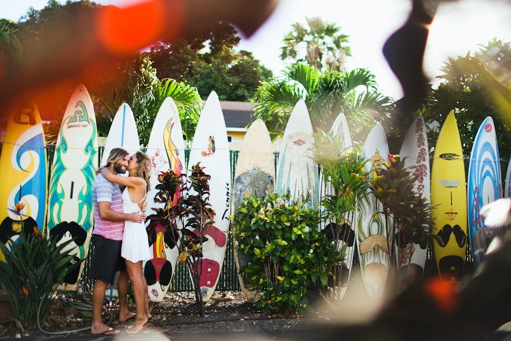 engagement photography in paia, maui