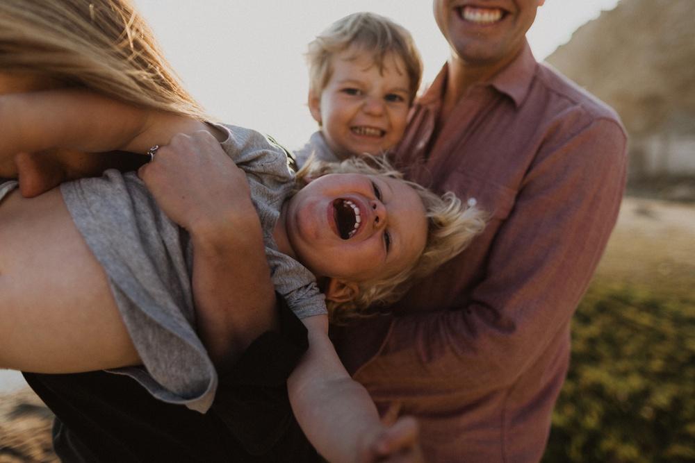fun family photos in san francisco