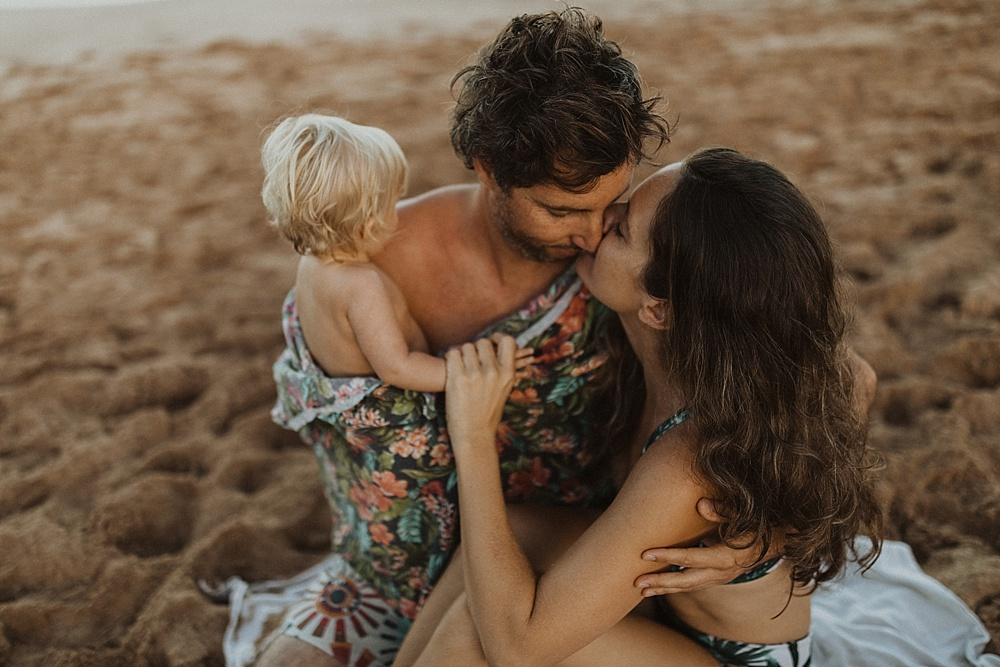 wailea morning family photos