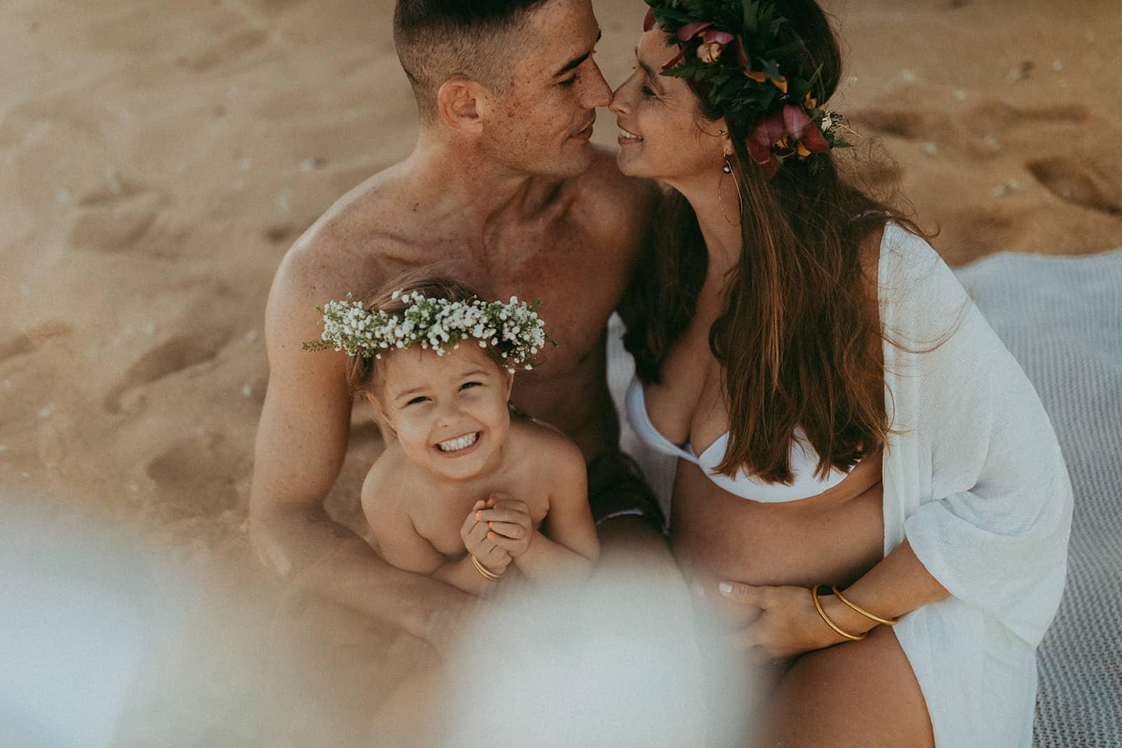 paia family photos on the beach