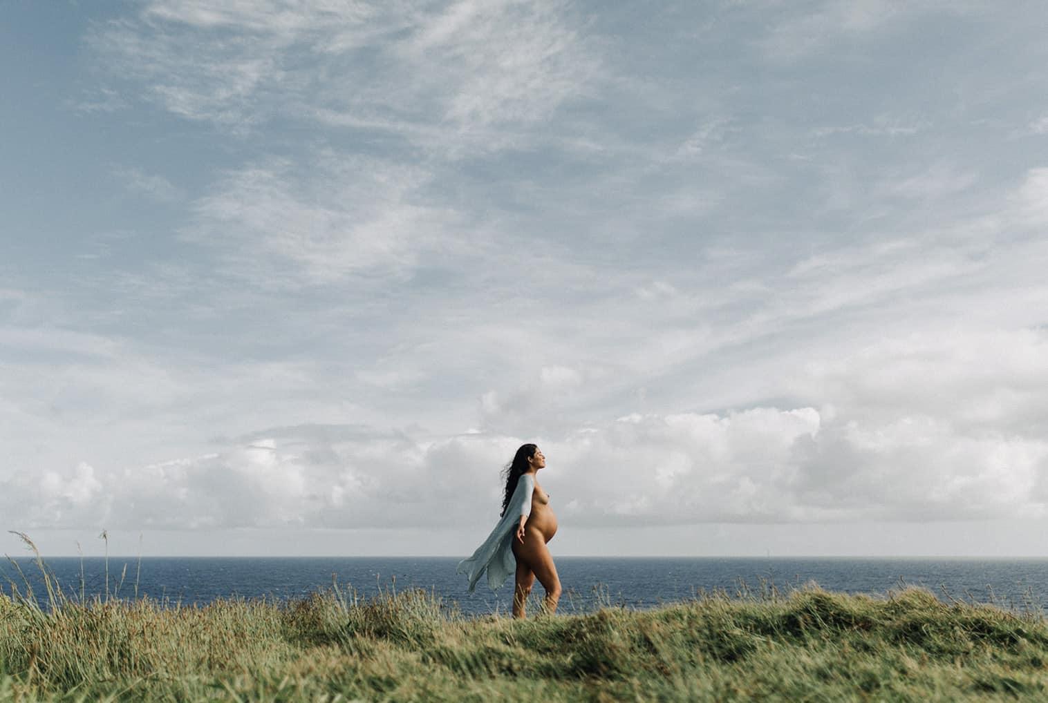 hawaii nude maternity photography